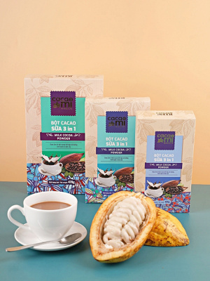 Bột Sữa Cacao 3 Trong 1